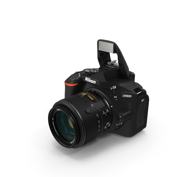 Slr Camera: Nikon D5500 PNG & PSD Images