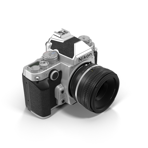 Slr: Nikon DF DSLR Camera Object