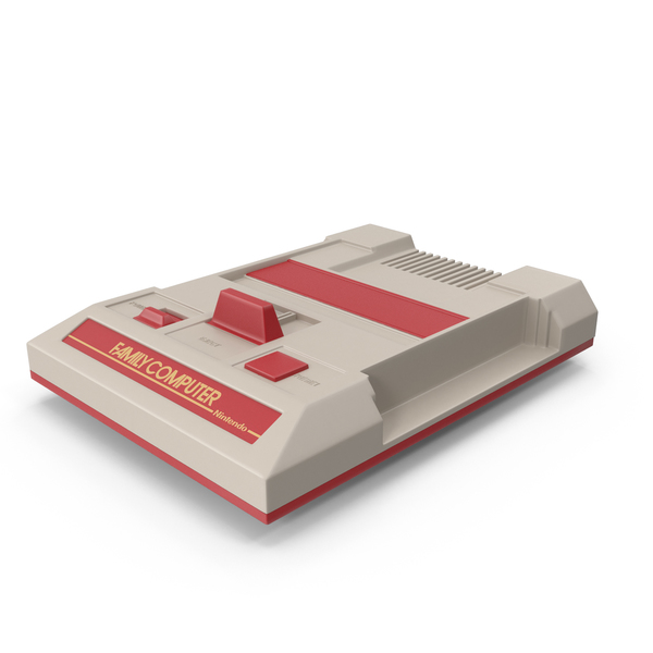 Game Console: Nintendo Famicom PNG & PSD Images