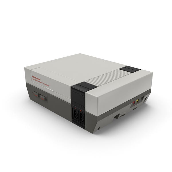 Nintendo NES Console PNG & PSD Images