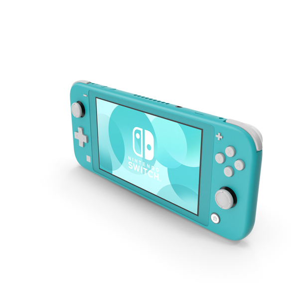 Nintendo Switch Lite Turquoise PNG & PSD Images