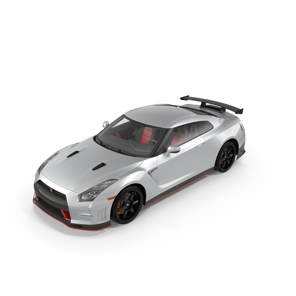 Sports Car: Nissan GT-R PNG & PSD Images
