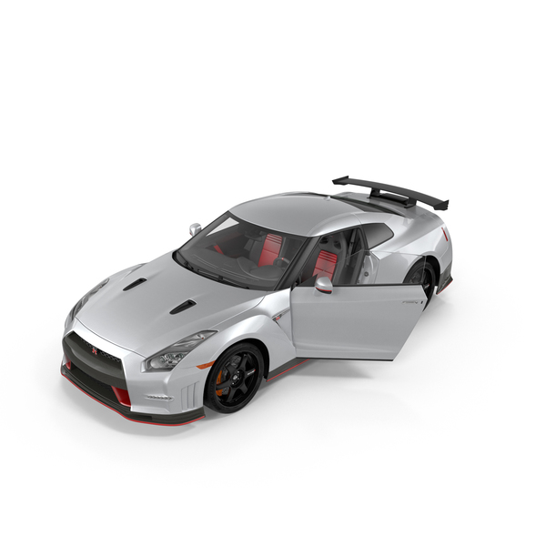 Supercar: Nissan GT-R PNG & PSD Images