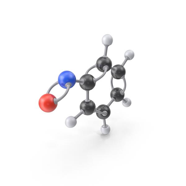 Nitrosobenzene Molecule Object
