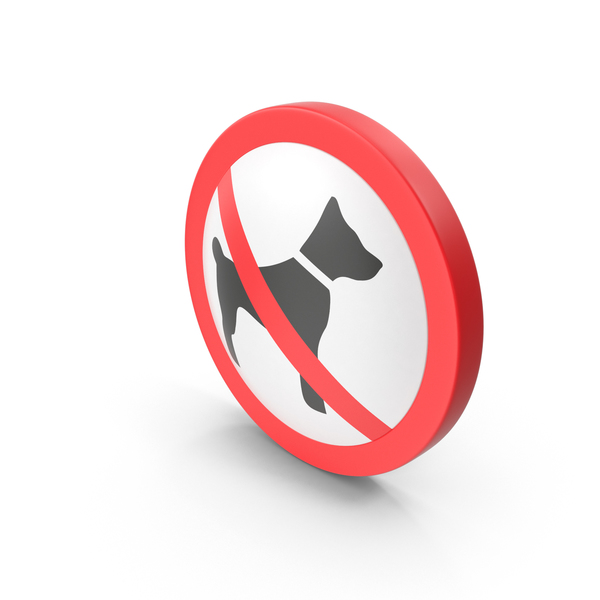 No Dog Sign PNG & PSD Images