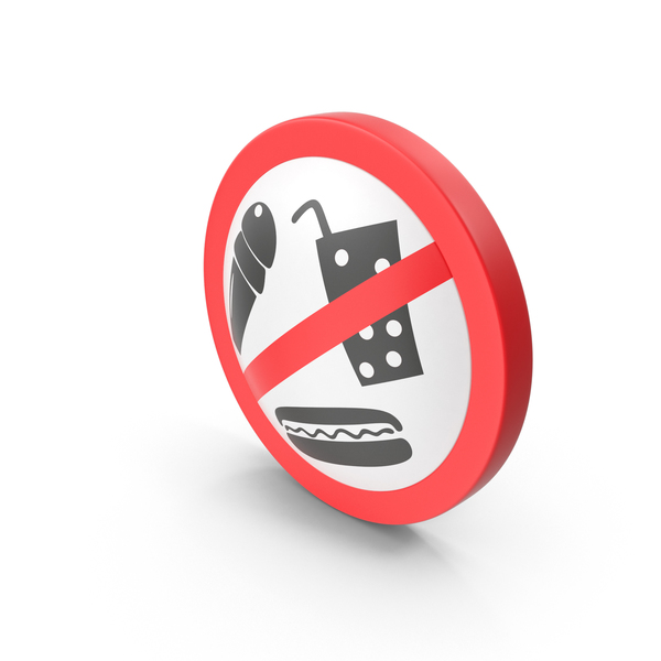 No Food Sign PNG & PSD Images
