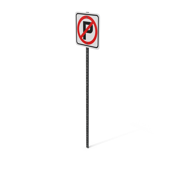 No Parking Sign Object