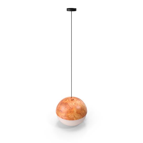 Nodic Arrival Wood Acrylic Pendant Lamp PNG & PSD Images