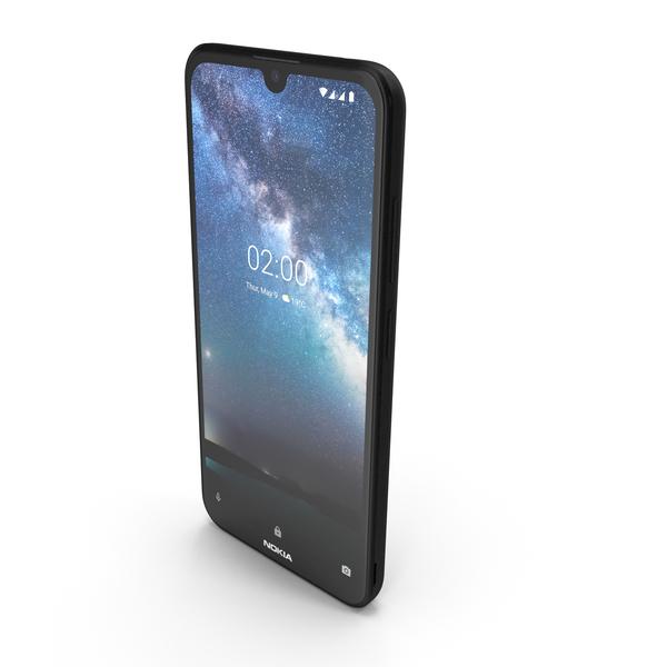 Nokia 2.2 Black PNG & PSD Images