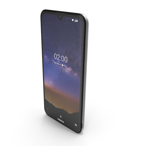 Nokia 2.2 Steel PNG & PSD Images