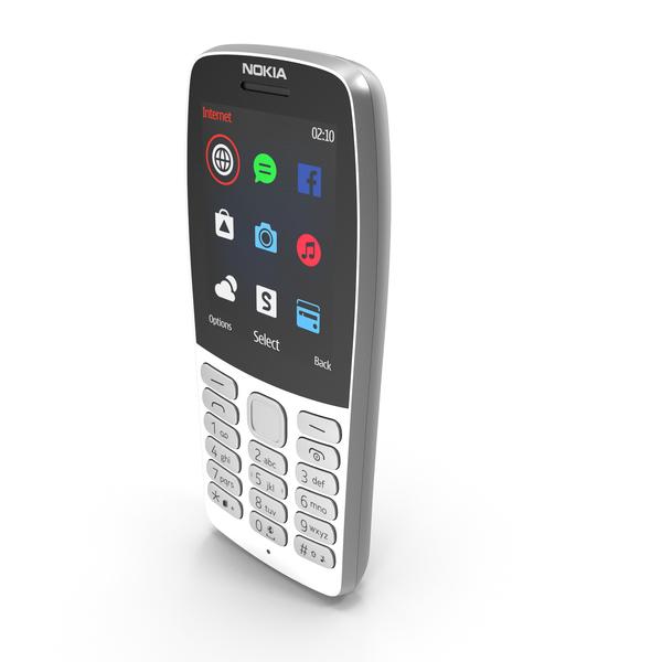 Nokia 210 2019 Grey PNG & PSD Images