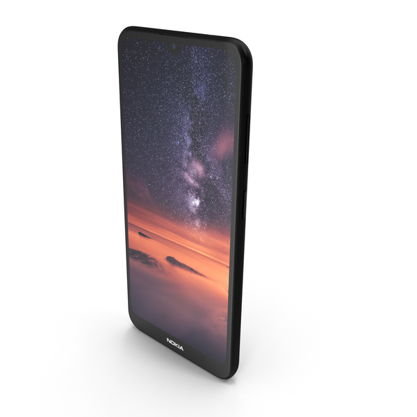 Nokia 3.2 Black PNG & PSD Images