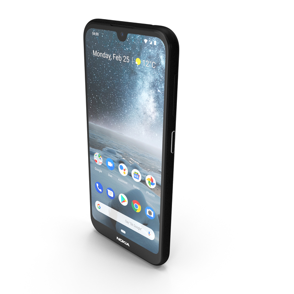 Nokia 4.2 Black PNG & PSD Images