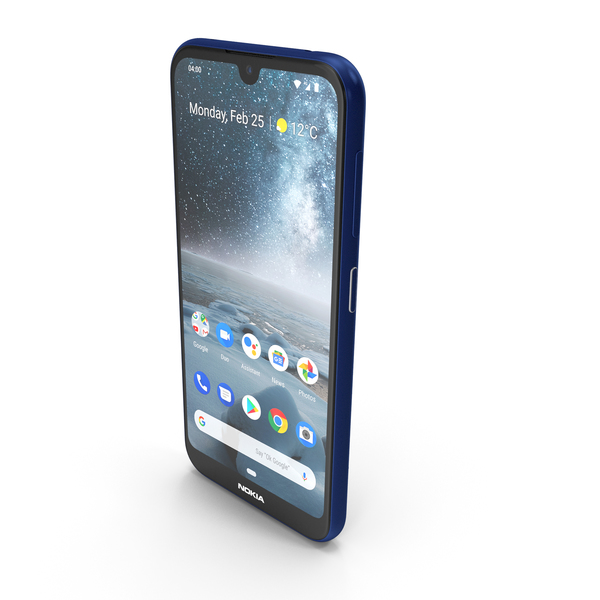 Nokia 4.2 Blue PNG & PSD Images