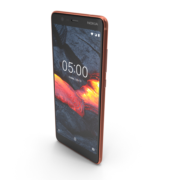 Nokia 5.1 Copper PNG & PSD Images