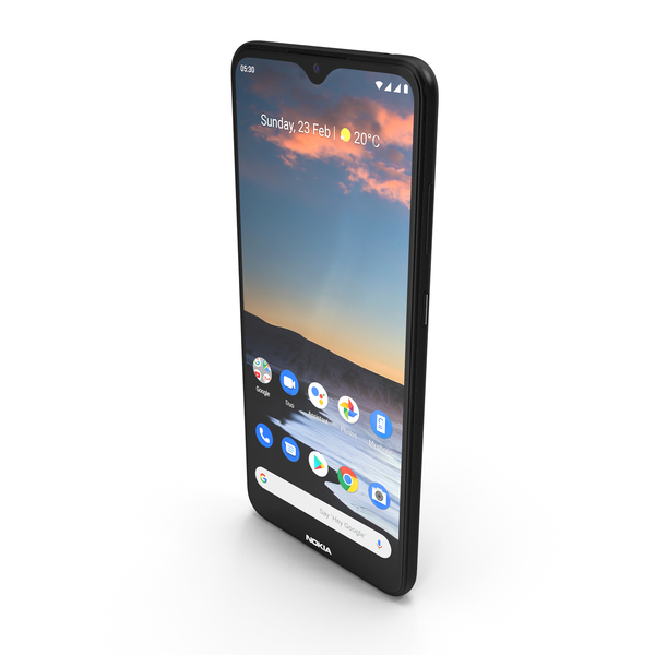 Nokia 5.3 Charcoal PNG & PSD Images