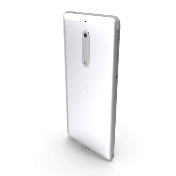 Nokia 5 Silver PNG & PSD Images