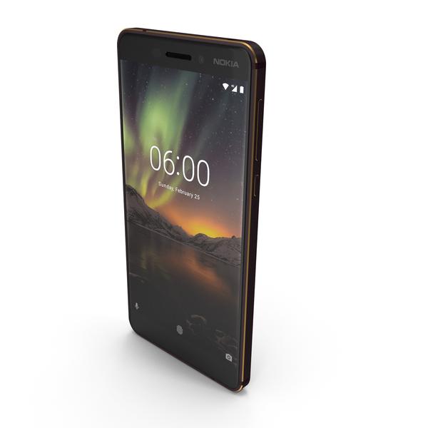 Nokia 6.1 Black PNG & PSD Images