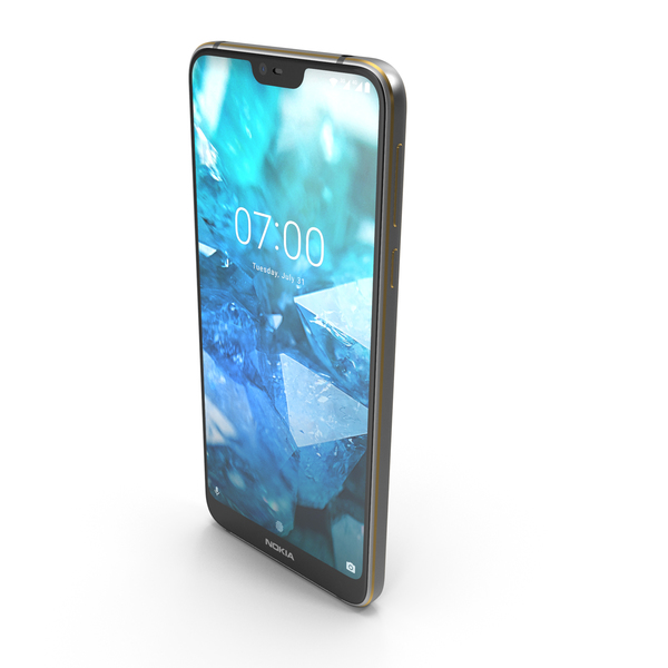 Nokia 7.1 Steel PNG & PSD Images