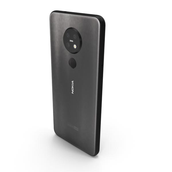 Nokia 7.2 Black PNG & PSD Images