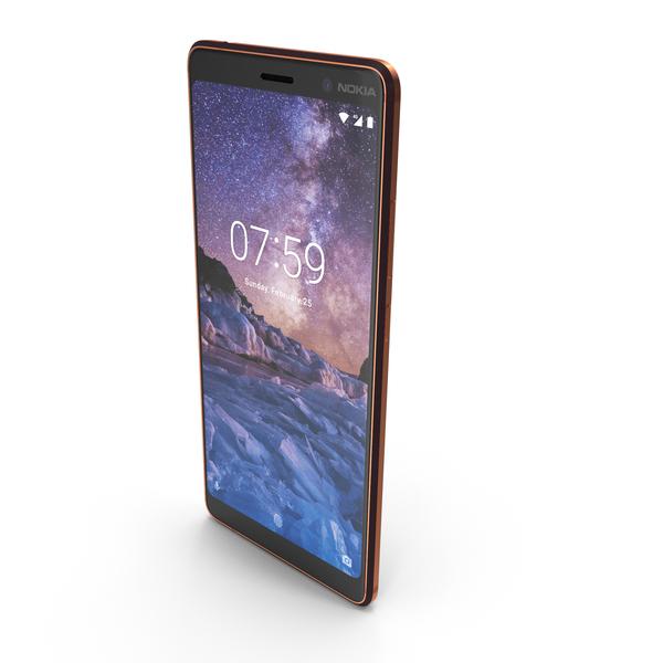 Nokia 7 Plus Black PNG & PSD Images