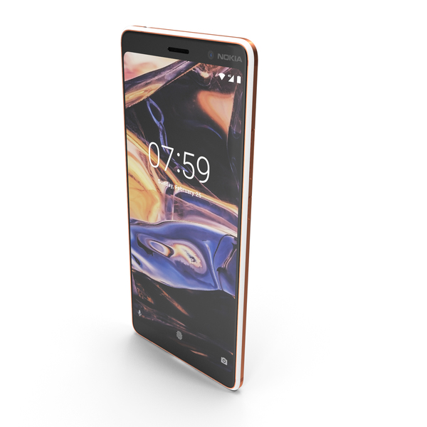 Nokia 7 Plus White PNG & PSD Images
