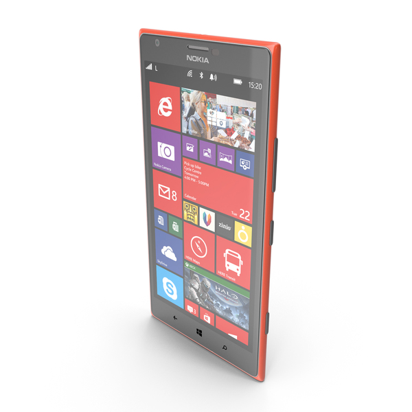 Nokia Lumia 1520 Red PNG & PSD Images