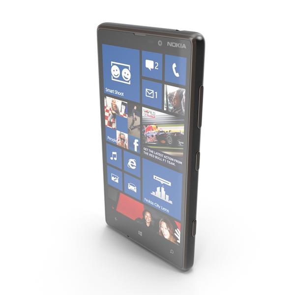 Nokia Lumia 820 Black PNG & PSD Images