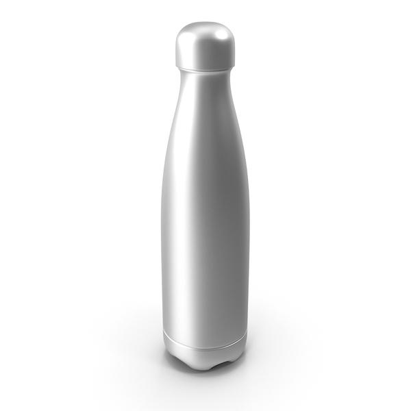 Non Aluminum Brushed Bottle PNG & PSD Images