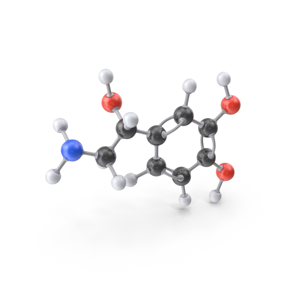 Norepinephrine Molecule PNG & PSD Images