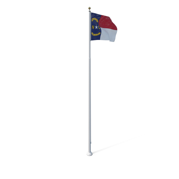 North Carolina State Flag PNG & PSD Images