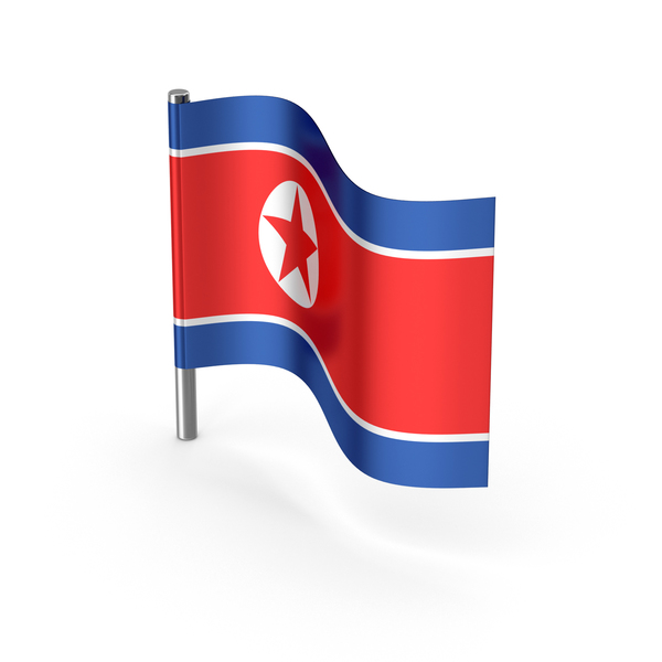 North Korea Flag PNG & PSD Images