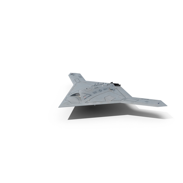 Northrop Grumman X 47B UAV PNG & PSD Images