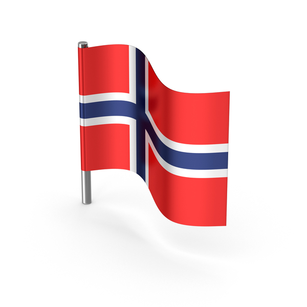 Norway Cartoon Flag PNG & PSD Images