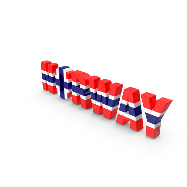 Norway Text PNG & PSD Images