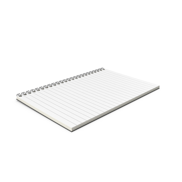 Notebook Open Folded PNG & PSD Images