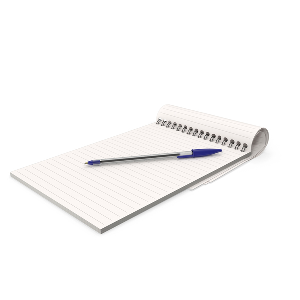 Notepad and Pen PNG & PSD Images