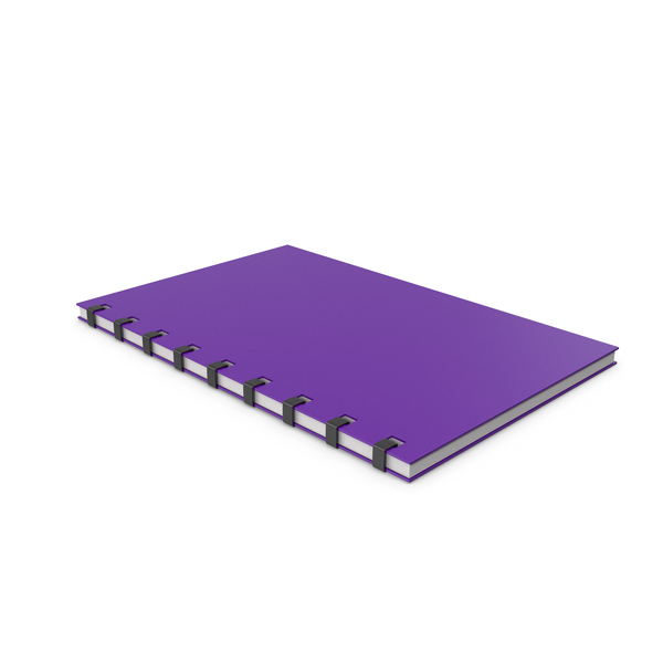 Notepad Purple PNG & PSD Images
