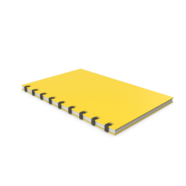Notepad Yellow PNG & PSD Images