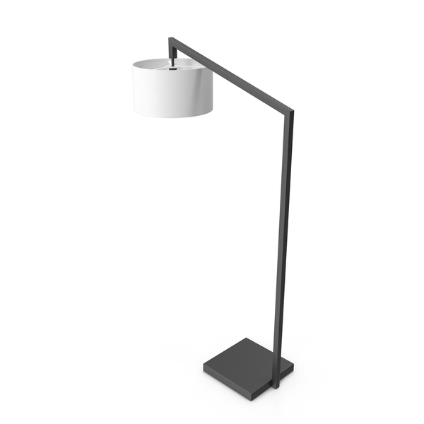 Floor: Nova Of California Stretch Chairside Arc Lamp PNG & PSD Images