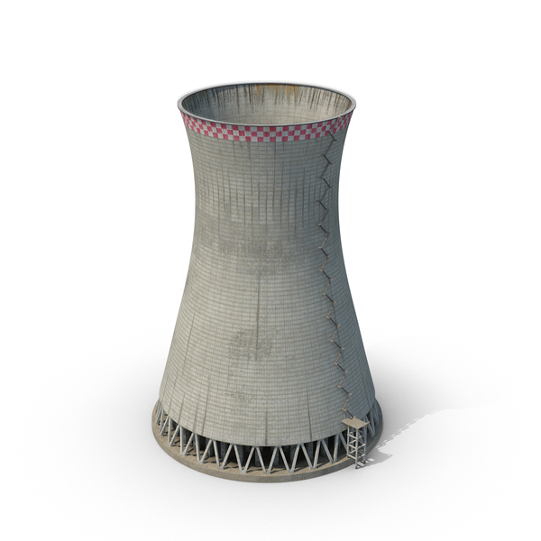 Nuclear Cooling Tower PNG & PSD Images
