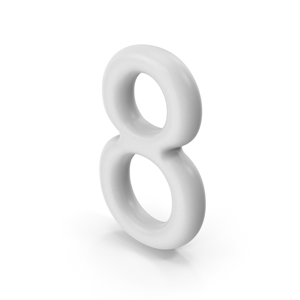 Number 8 PNG & PSD Images