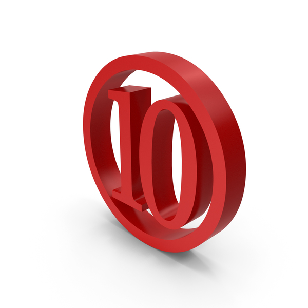 Number Circle 10 PNG & PSD Images
