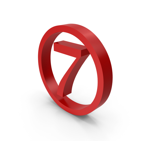 Number Circle 7 PNG & PSD Images
