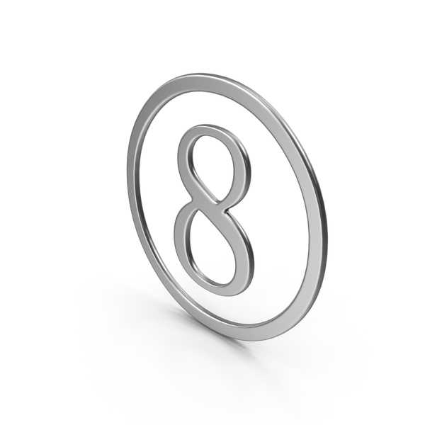 Number Eight In Ring PNG & PSD Images