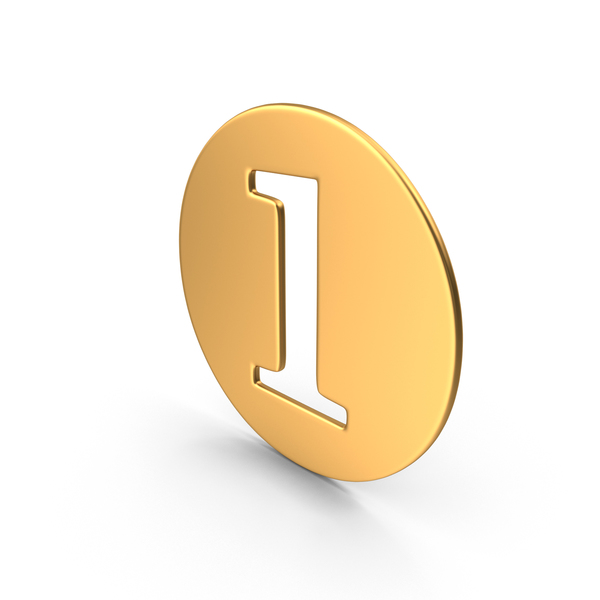 Number: Numeral 1 PNG & PSD Images