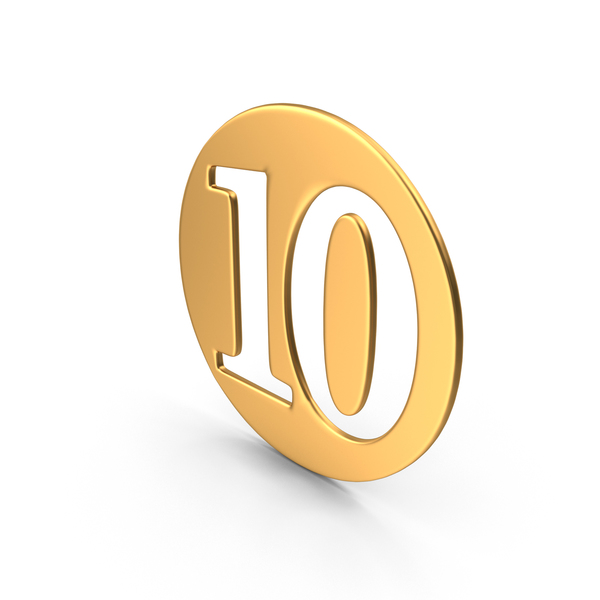 Number: Numeral 10 PNG & PSD Images