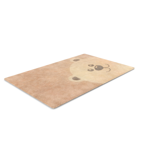 Nursery Bear Rug PNG & PSD Images