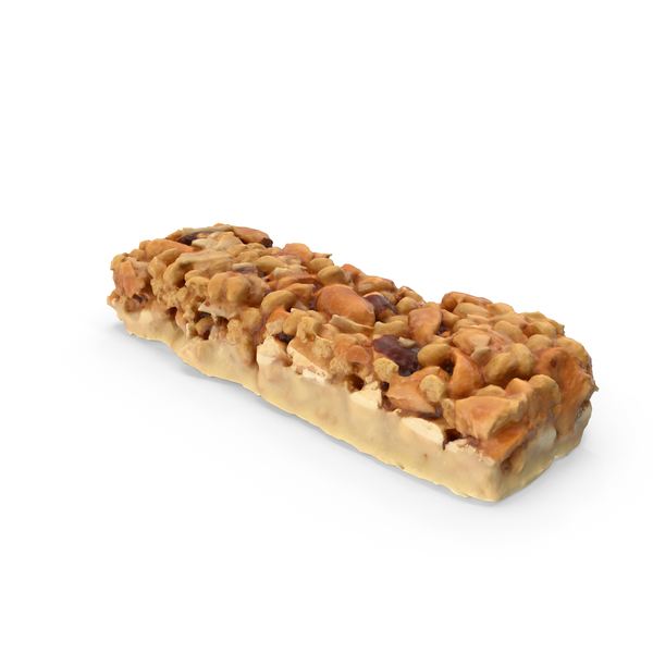 Snack Food And: Nut bar PNG & PSD Images