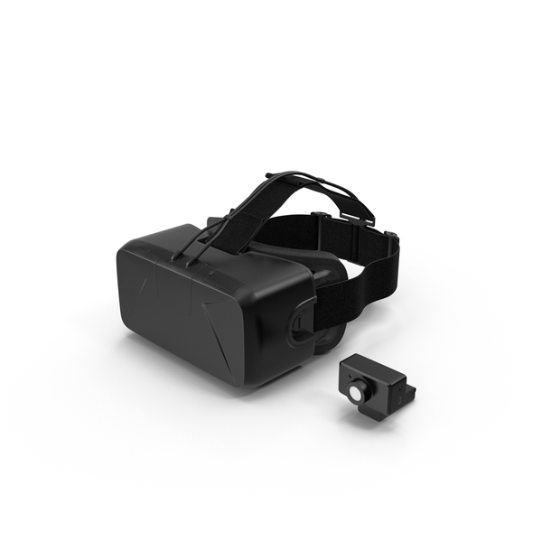 Virtual Reality Goggles: Oculus Rift Dev Kit PNG & PSD Images